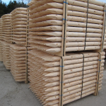 Machine Round / Peeled Posts